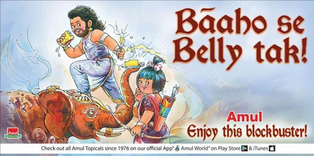 Amul Bahubali Creative