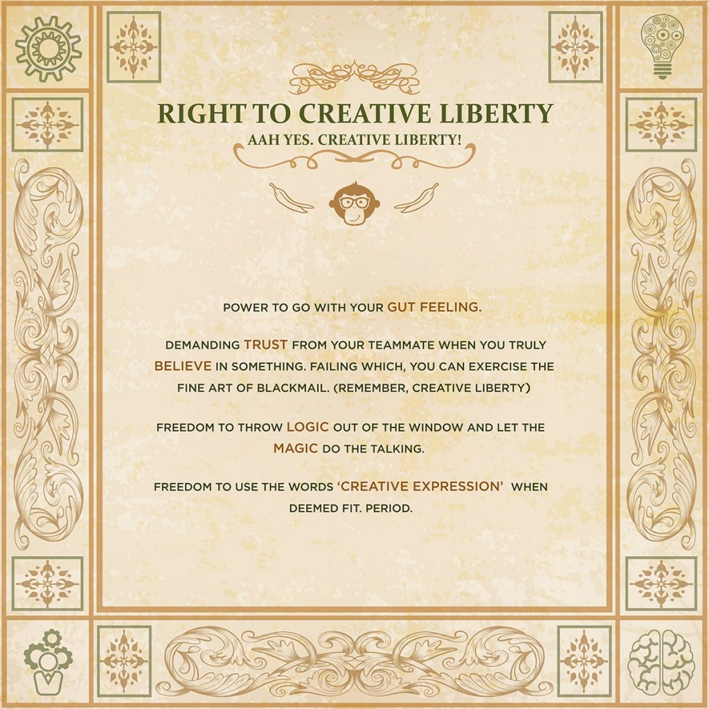 Right to Creative Liberty