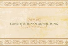 Constitution of Advertising
