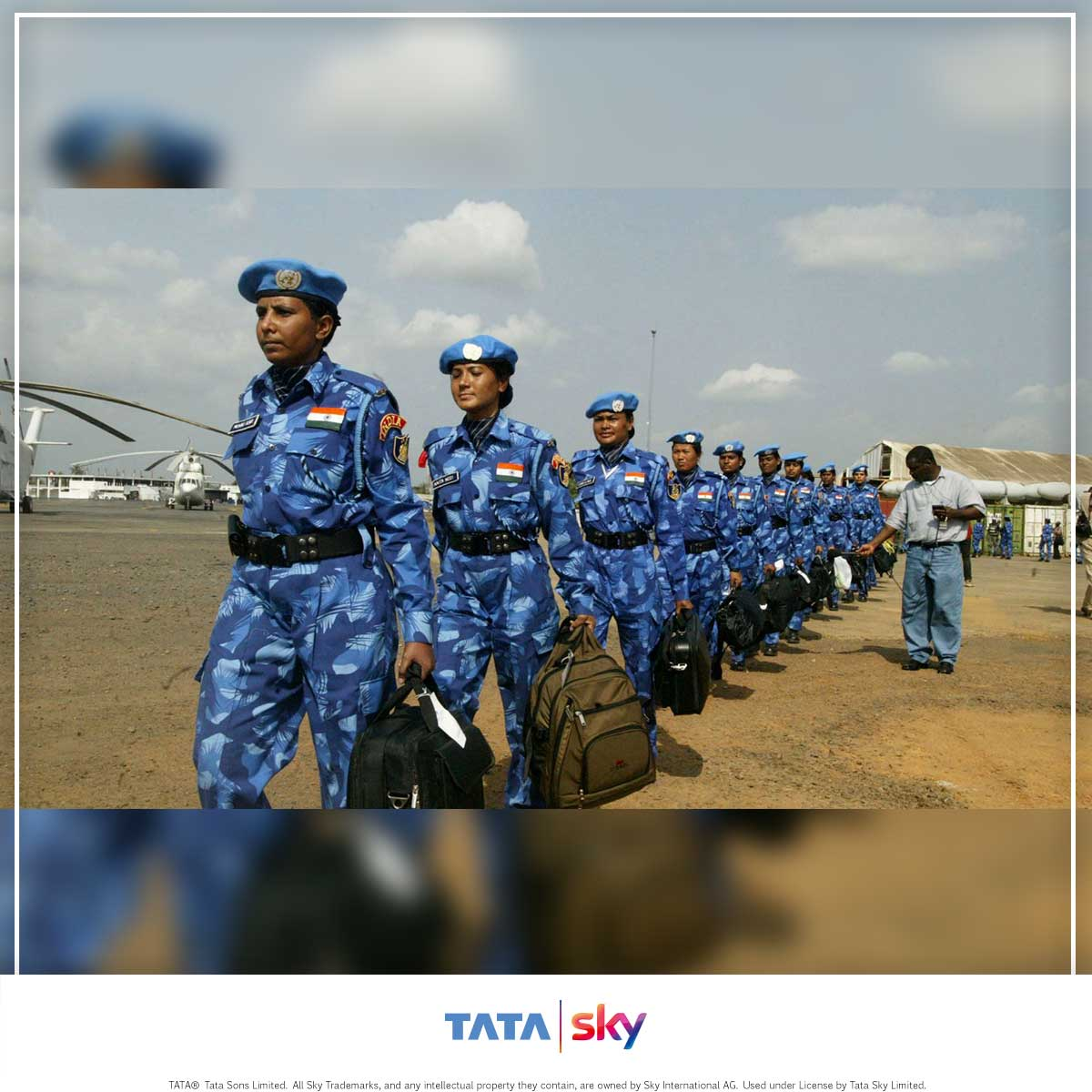 Tata Sky Blogbuster - Indian Women Peace Keepers