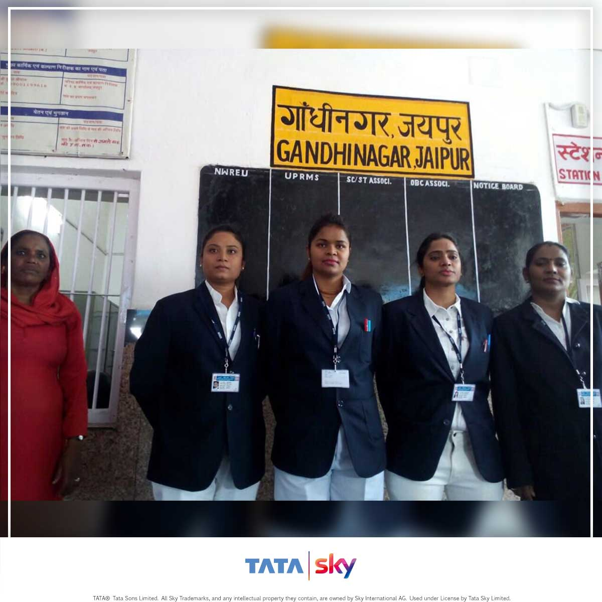 Tata Sky Blogbuster - Indian Women Railway employees