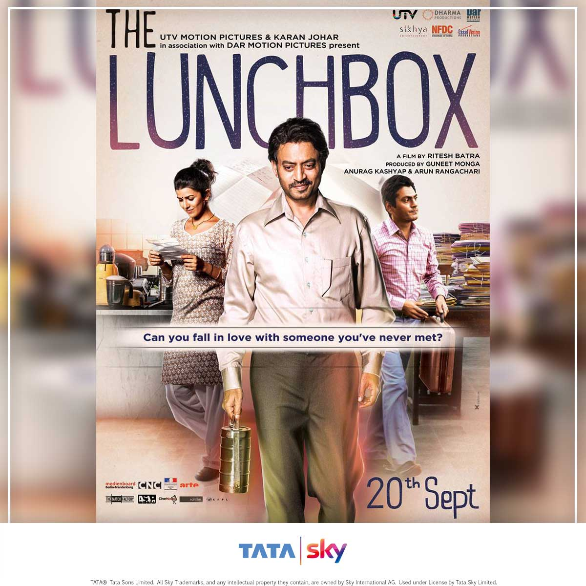 Tata Sky Blogbuster -  The Lunch Box