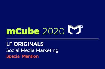 mCube 2020 LF ORIGINALS Social Media Marketing Special Mention