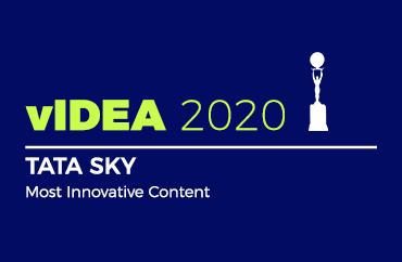 vIDEA 2020 TATA SKY Most Innovative Contents