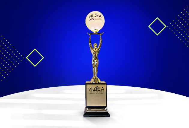 Gold at vIDEA Awards 2021 Tata Sky