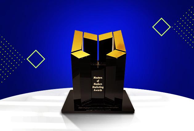 Gold at mCube Awards 2021 Tata Sky