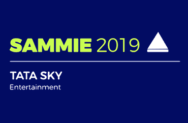 SAMMIE 2019 Tata Sky Entertainment