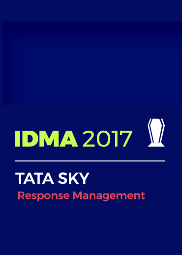 IDMA 2017 Award For Response Management