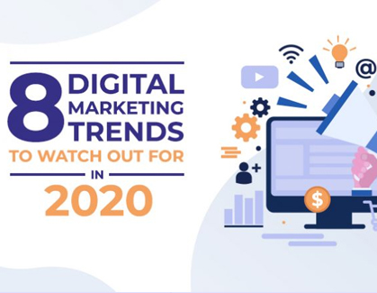 Blog- 8 Digital Marketing Trends To Watch Out For in 2020