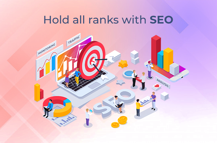 Hold all ranks with SEO