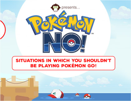 Blog- Pokemon No: 17 Situations Where You Shouldn't Be Playing Pokemon Go