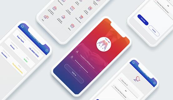 Android App Design - Tata Sky MSale