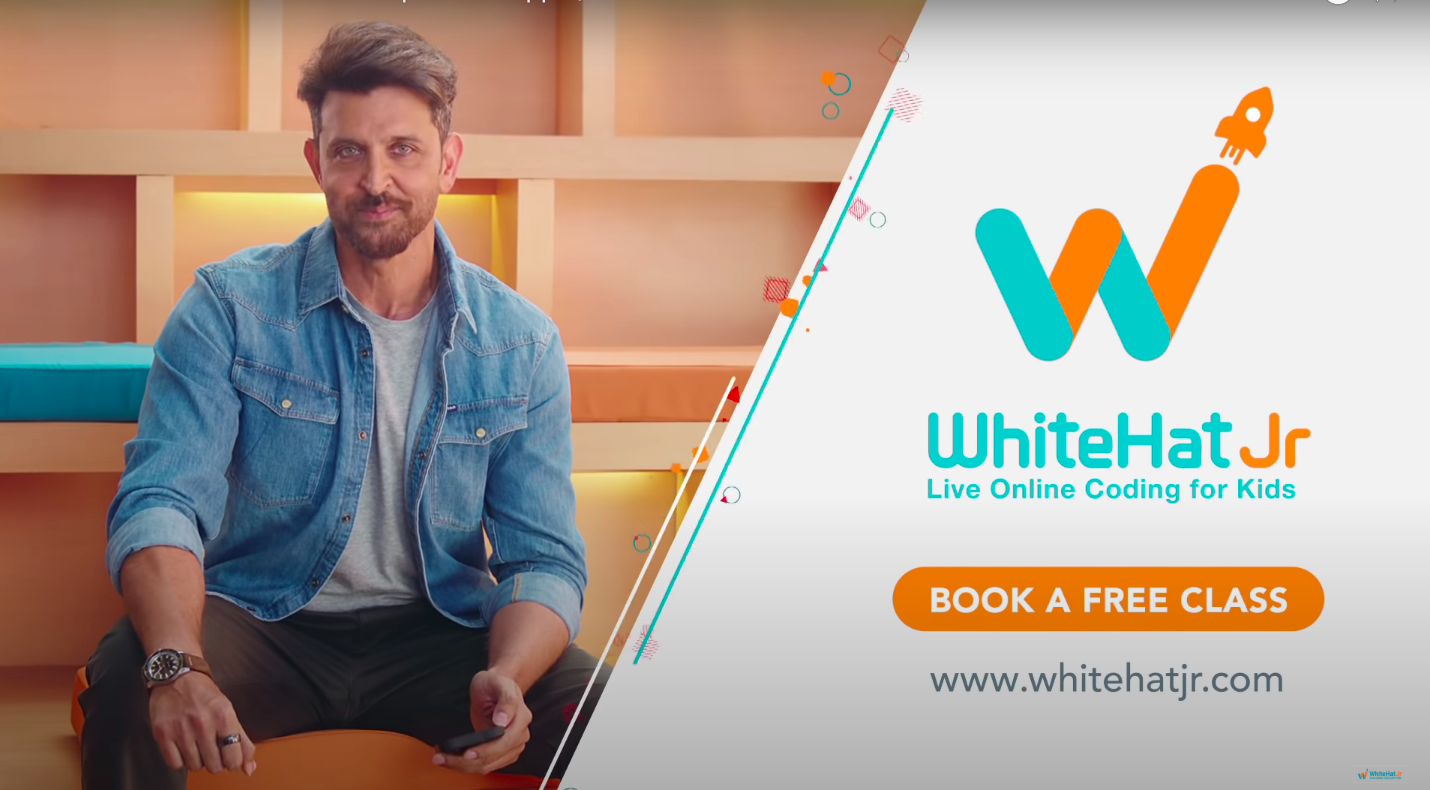 WhiteHat Jr Video View Campaign - #LearnToCode