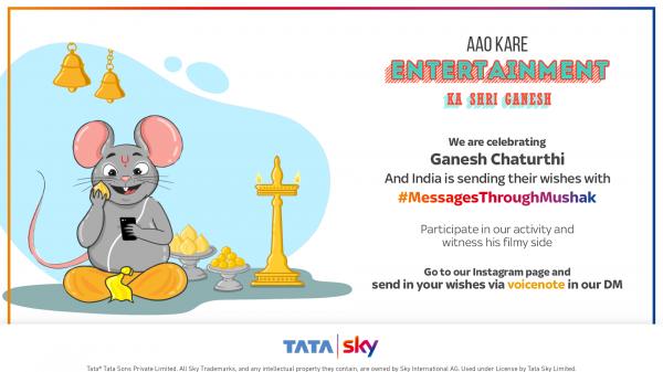 Tata Sky, 2019 #MessagesThroughMushak