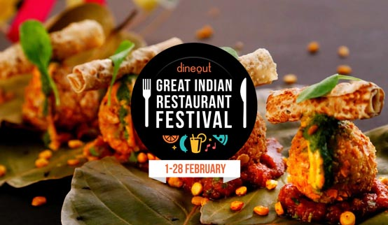Integrated Campaign Great Indian Restaurant Festival