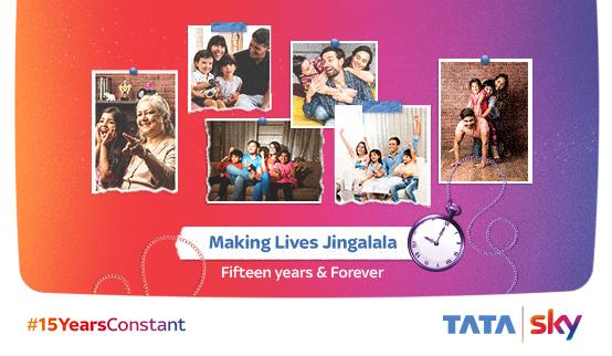 Social Media Campaign #15YearsConstant - Tata Sky