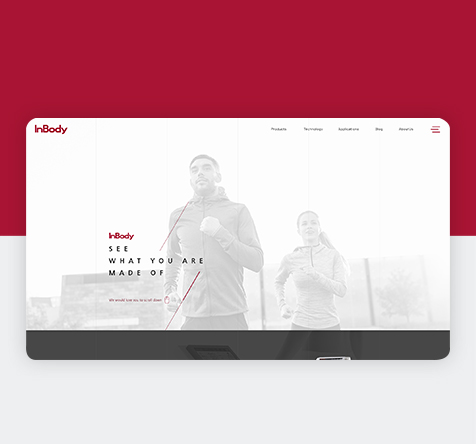 Inbody Website Design
